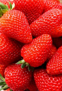 Strawberry texture - image gratuit #334299