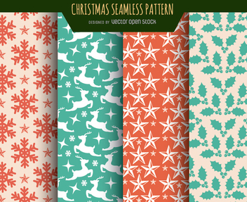 Christmas Textures wallpapers - бесплатный vector #334339