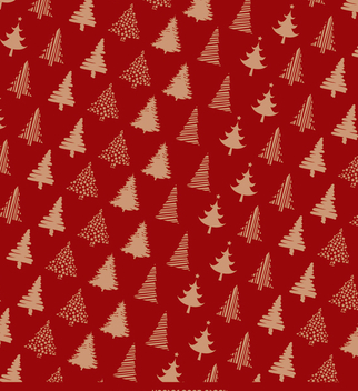 Christmas wrapping paper design - Free vector #334359