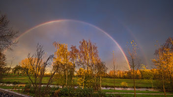 Double Rainbow - 13 november 2015 - 16:34h - Haastrecht - Free image #334369