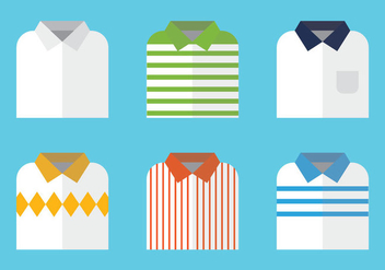 Free Folded Shirt Vector Illustration - бесплатный vector #334609