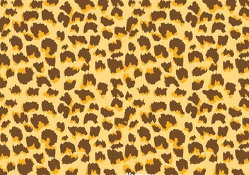 Natural Color Leopard Pattern - vector gratuit #334619