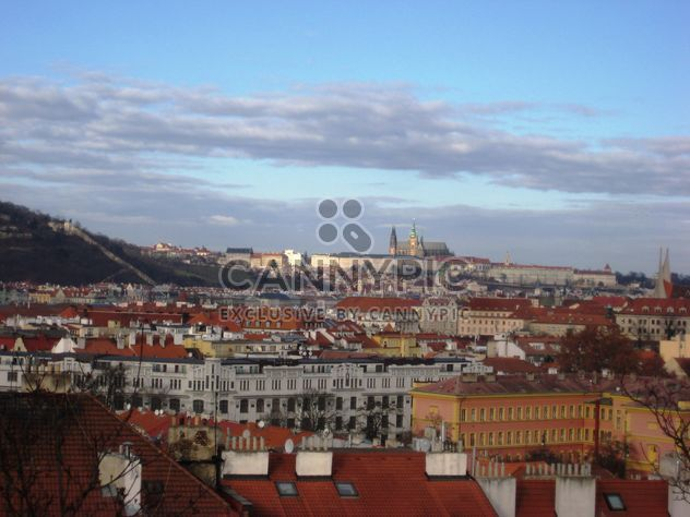 Prague from height in winter - image gratuit #335139