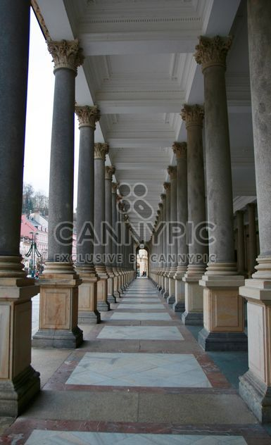 Colonnade - Free image #335279