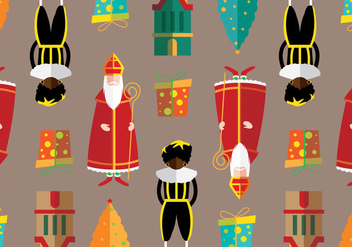 Christmas Netherlands Vector Pattern - бесплатный vector #335559