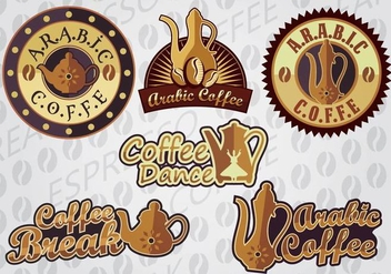 ARABIC COFFEE - vector #335769 gratis