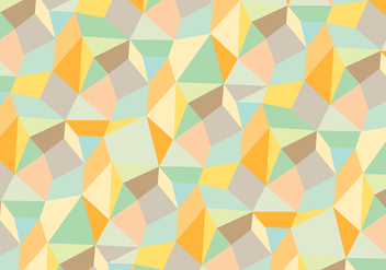 Trendy abstract geometric pattern background - Free vector #335799