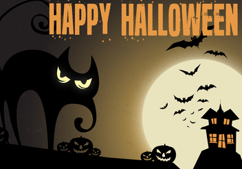 Free Haunted Night Vector - Kostenloses vector #336019