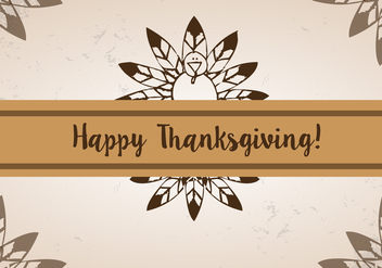 Free Thanksgiving Feather Vector - бесплатный vector #336029