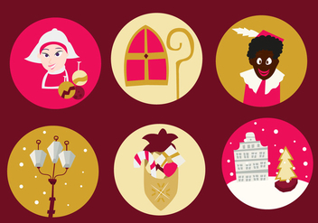 Christmas Netherlands Free Icons - бесплатный vector #336089