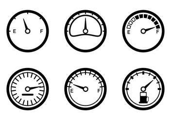 Fuel Gauge Vector - Free vector #336199