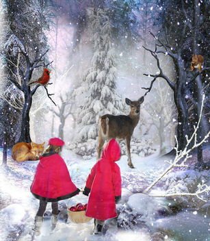 Holiday Treat for the Forest Animals - image gratuit #336449