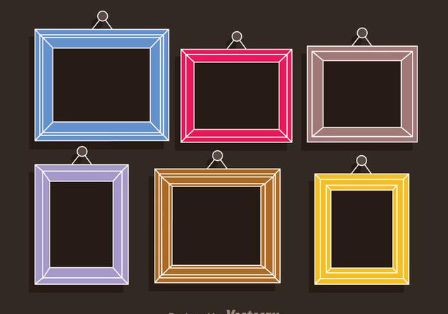 bunte bilder foto collage template kostenloser vektor. Black Bedroom Furniture Sets. Home Design Ideas