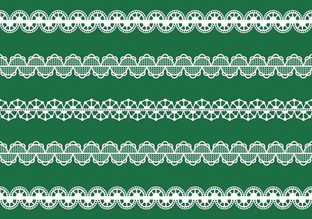 Vector Lace Trim - Free vector #336749