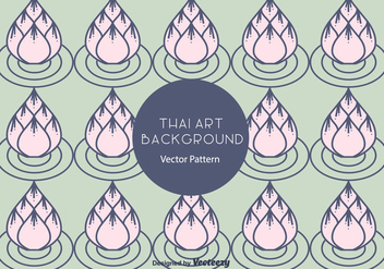 Free Thai Pattern Vector - Free vector #336799