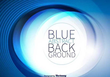 Blue Abstract Background - vector gratuit #336839