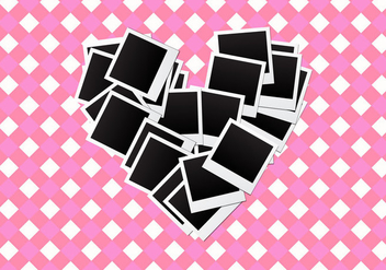 Free Heart Frames Vector - Free vector #337089