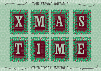 Free Christmas Background Illustration - vector gratuit #337279