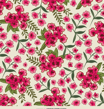 Flower background - vector #337339 gratis