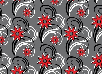 Seamless Floral Ornament Pattern - Kostenloses vector #337369