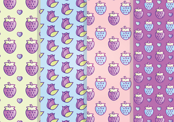 Cute Vector Patterns - Free vector #337719