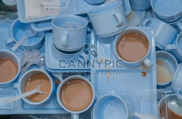 Dirty coffee cups - image gratuit #337899