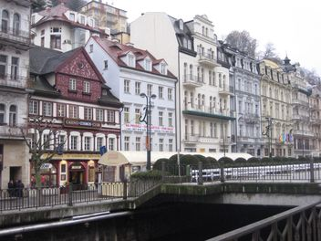 Houses in Karlovy Vary - Free image #338229
