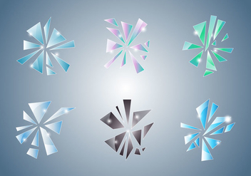 Free Shattered and Broken Glass #1 - Free vector #338339