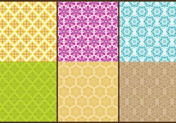 Thai Patterns - Free vector #338349