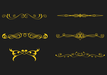 FREE SCROLLWORK VECTOR 1 - Free vector #338639