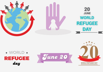 Free Refugee Day Vector - vector gratuit #338729