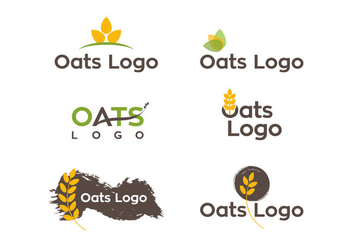 Oats Logo Vector - бесплатный vector #338799
