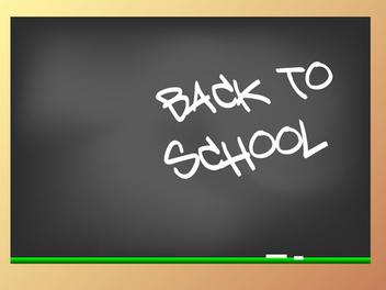 Back to school - vector gratuit #339029