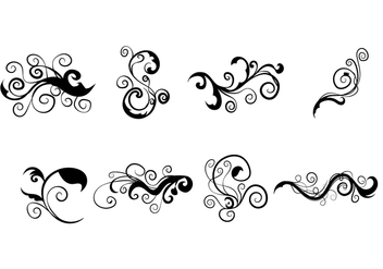 Scrollwork Vector - Free vector #339359