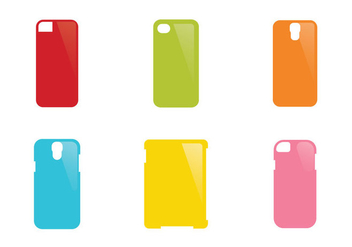 Free phone case Vector Illustration - vector gratuit #339389