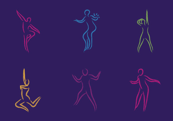 Free Zumba Vector Illustration - vector gratuit #339399