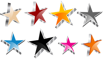 Vector star collection - Free vector #339519