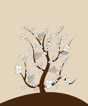 Spring Tree - vector #339699 gratis