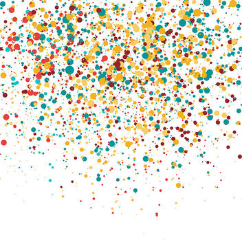 Colorful Confetti - vector gratuit #339959