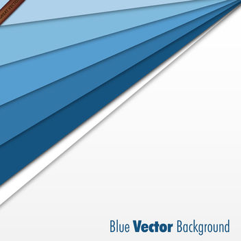 Abstract Blue Business Template - vector #339999 gratis