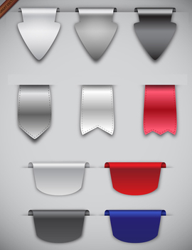 Free Vector Ribbons - бесплатный vector #340039