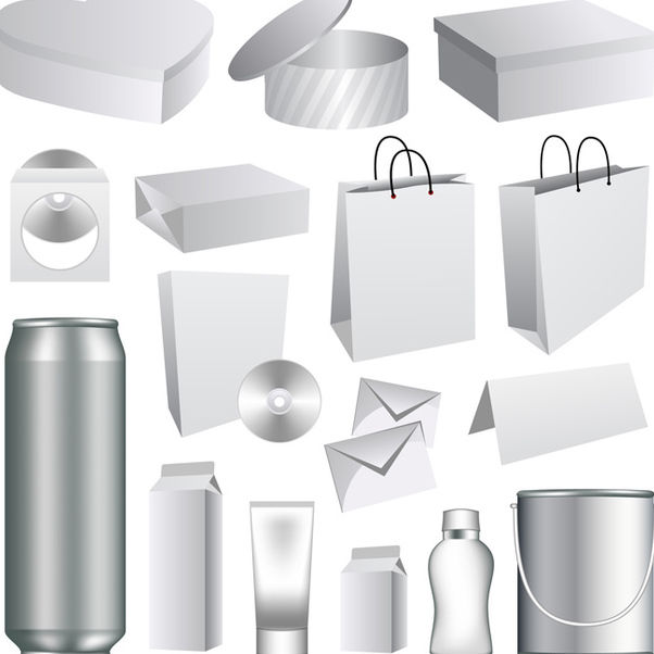 Vector Packaging Templates - Free vector #340189