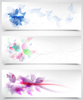 Floral Backgrounds - vector #340259 gratis