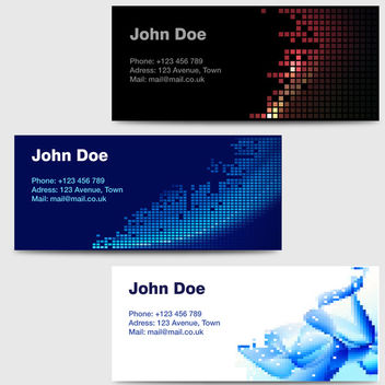 Business Cards - vector gratuit #340289