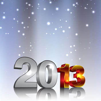 New Year Background - vector #340479 gratis