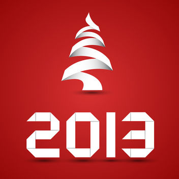 New Year Background - vector gratuit #340499