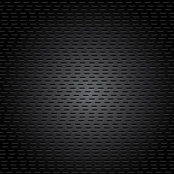 Black Metal Surface - vector gratuit #340549
