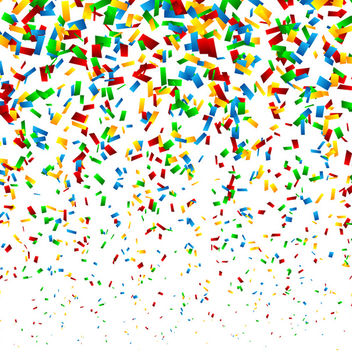 Confetti Background - vector #340719 gratis