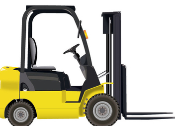 Forklift Icon - vector #340879 gratis