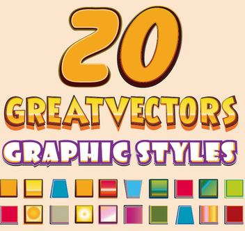 Logo Graphic Styles - Free vector #340929